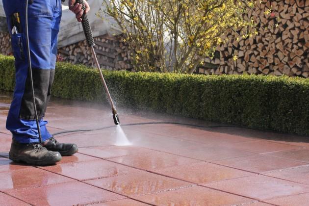 Nettoyage extérieur professionnel, nettoyage de terrasses