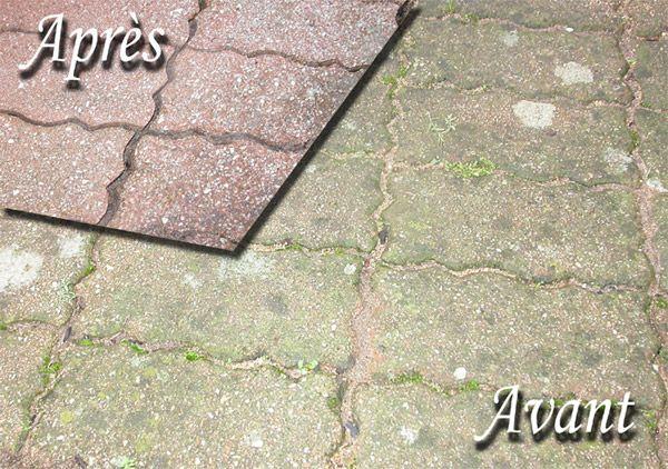 Nettoyage ext rieur professionnel nettoyage de terrasses for Nettoyage dalle terrasse