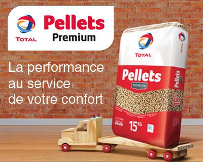 total pellets premium granules bois vente livraison toulouse